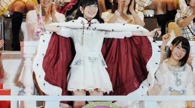 Sashihara Rino makes AKB48 History! Back to Back Sousenkyo Wins!