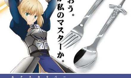 Own Saber's Excalibur as Fate/stay night: Heaven's Feel Anime Utensils