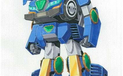 Gundam Designer Collaborates on World's 1st Ridable Transforming Robot Car Project