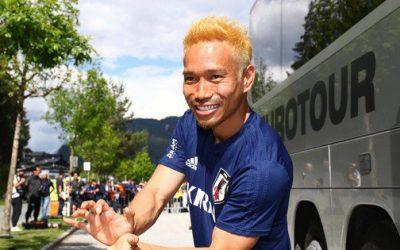 Pro Soccer Player Yūto Nagatomo Goes Super Saiyan to Support Team