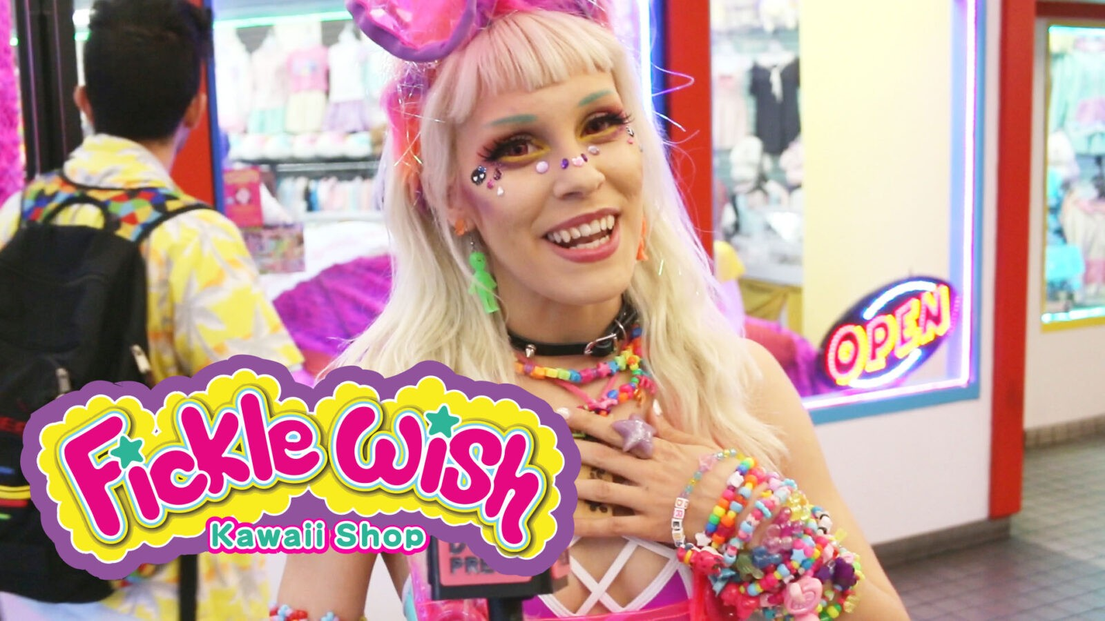Audra presents the Grand Opening of Fickle Wish – a Harajuku Fashion Store in Little Tokyo, CA
