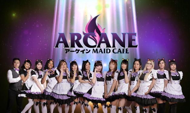 Premiere American Maid Cafe 'Arcane Maid Cafe' Celebrates It's 1st Year Anniversary at Anime Impulse