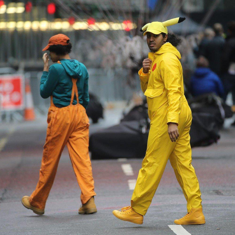 Purported Photos from Live-Action Detective Pikachu Film Circulated
