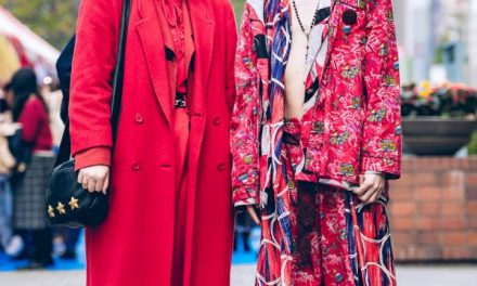 All Red & Mixed Prints Tokyo Street Styles w/ Christopher Nemeth Rope Print, Mihara Yasuhiro & Vintage Fashion