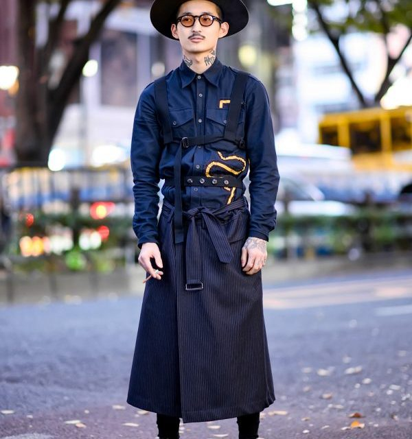 Retro Japanese Street Style in Harajuku w/ Dries Van Noten, The Fat Hatter & Vintage Fashion
