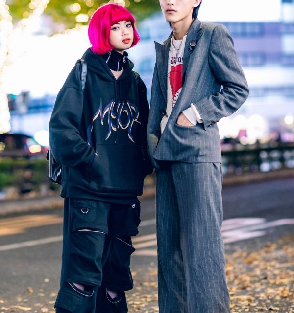 Harajuku Street Styles w/ Pink Bob, Billion Tokyo, MYOB, I.Am.Gia, 23.65 Sneakers, Ralph Lauren Suit, Unknown Section & Rick Owens