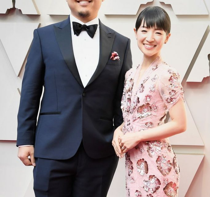 Marie Kondo walks the Oscars Red Carpet
