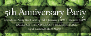 Absolution's 5th Anniversary Party & St. Patrick's Celebration
