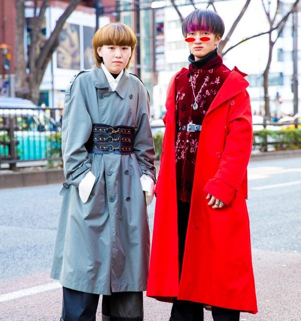 Tokyo Trench Coats Street Styles w/ Burberry, Emoda, Yosuke, Saad, Comme des Garcons, Bubbles, Vintage & Handmade Fashion