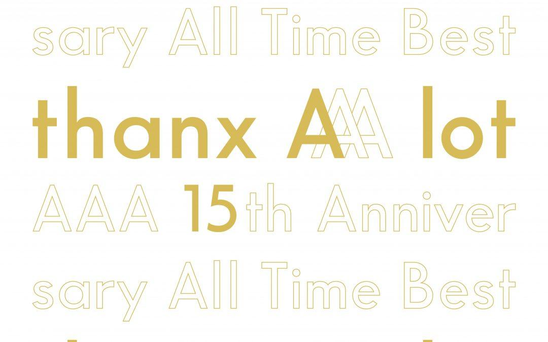 AAA to Release 15th Anniversary Best Album