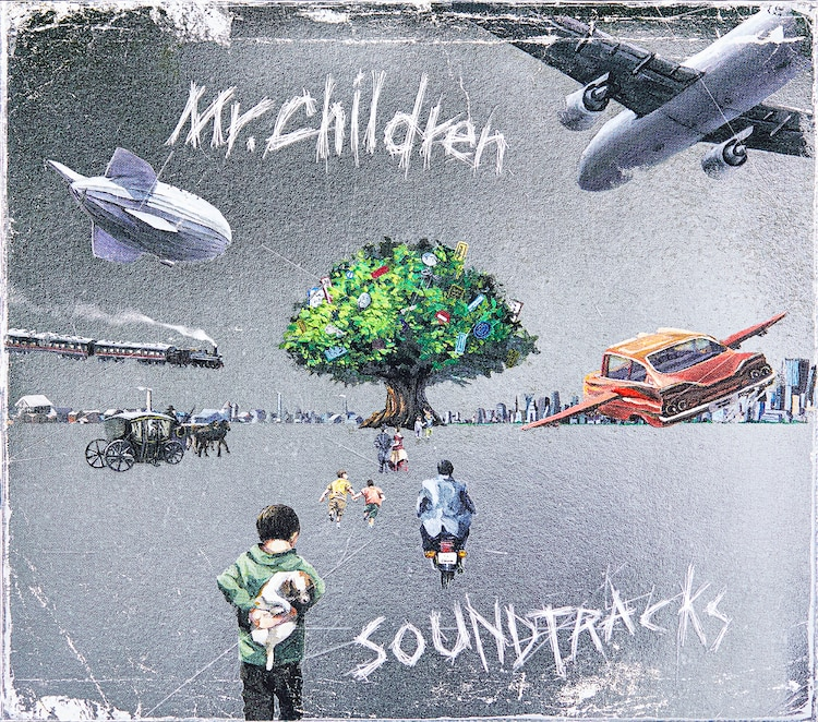 "Mr.Children announce 20th album ""SOUND TRACKS"" 