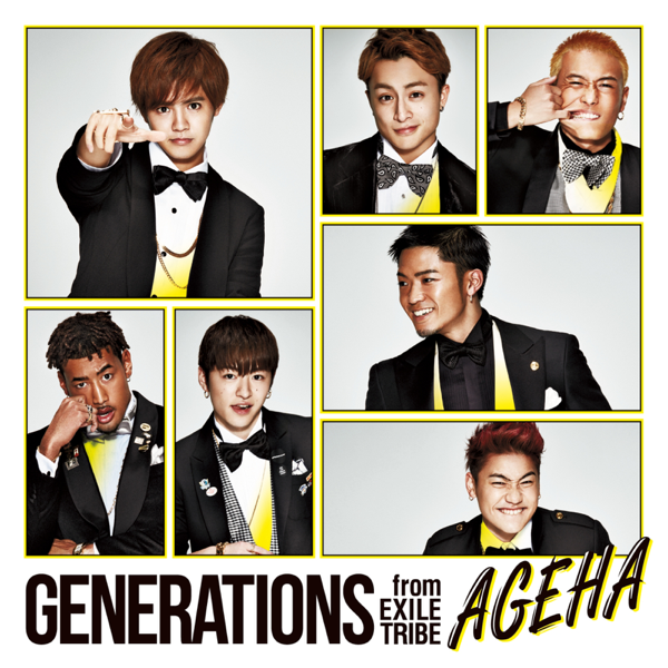 """Image result for GENERATIONS from EXILE TRIBE / """"AGEHA"""" itunes"""