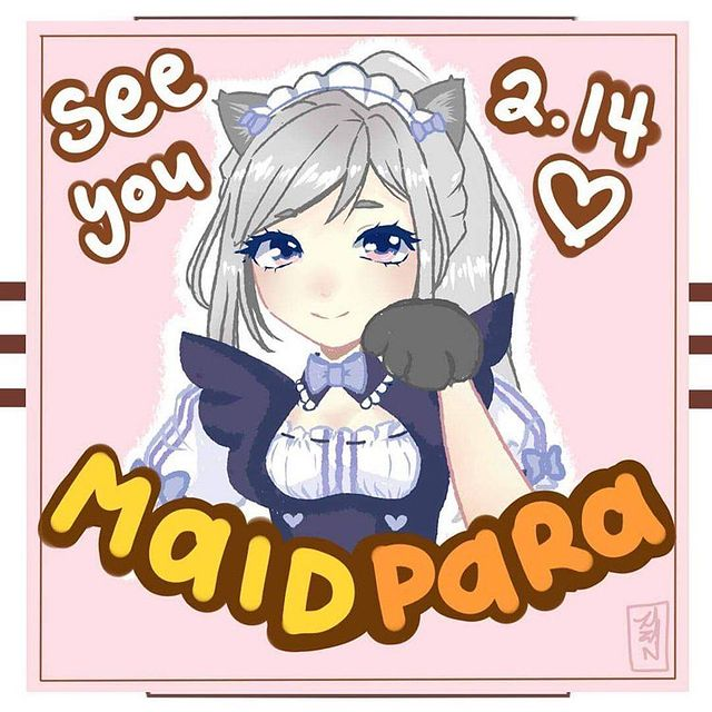 "University of California Irvine's Maid Cafe, ""ZotCon Maid & Butler Cafe"" to host digital maid cafe on Valentines Day"