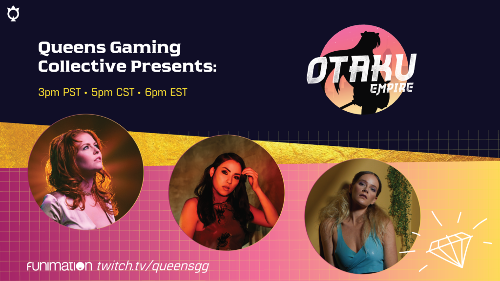 Celebrate Women's History Month With Queens Gaming Collective x Funimation